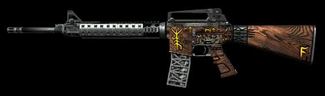 M16A3 Custom «Берсерк»