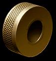 Золотой пламегаситель Ruger Mk IV Lite