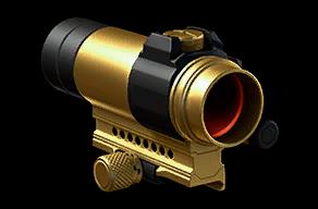 Золотой коллиматор Aimpoint Comp4s