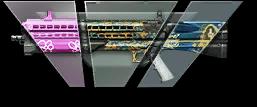 Камуфляж «Картель» / Лесной / Розовый  для UTAS UTS-15