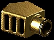 Золотой особый пламегаситель CMS