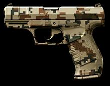 Горный камуфляж для Walther P99