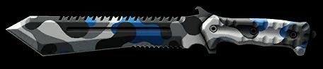 Камуфляж «ВКонтакте» для ножа M48 Bowie