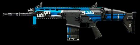 Наградной FN SCAR‐H, 1111$