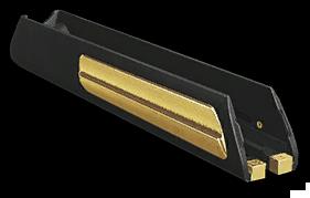 Золотые улучшенные сошки для Steyr Scout (сложенные)