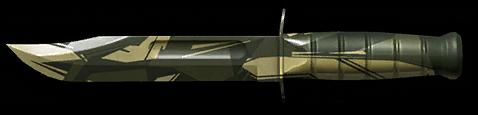 Камуфляж «Джунгли» для универсального ножа KA-BAR