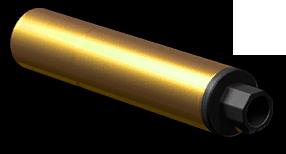 Золотой глушитель H&K G28