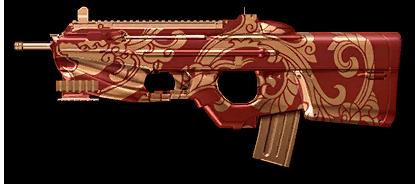 Камуфляж «Алый дракон» для FN F2000