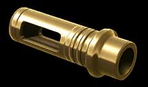 Золотой пламегаситель Remington MSR