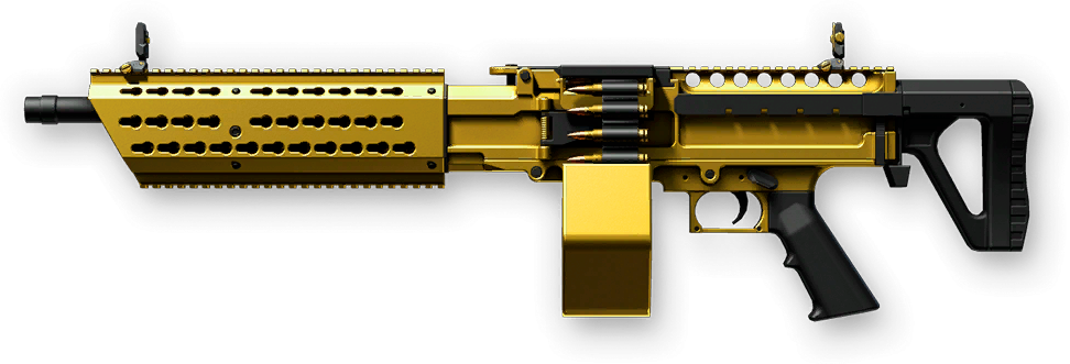 Золотой Stoner LMG A1