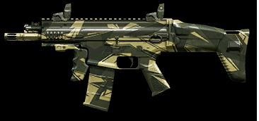 Камуфляж «Джунгли» для FN SCAR‐L PDW