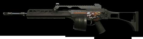 H&K MG36 «Антизомби»