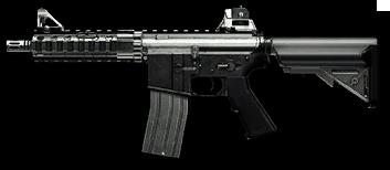 Камуфляж «Металл» для M4 CQB