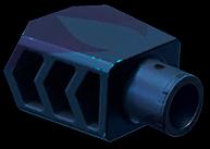 Тактический пламегаситель CMS «Медуза»