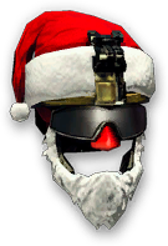 Новогодний шлем штурмовика