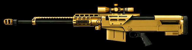 Золотая снайперская винтовка AS50
