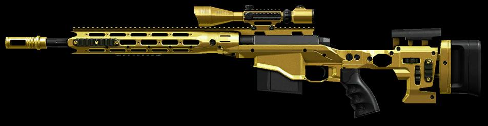 Золотая Remington MSR