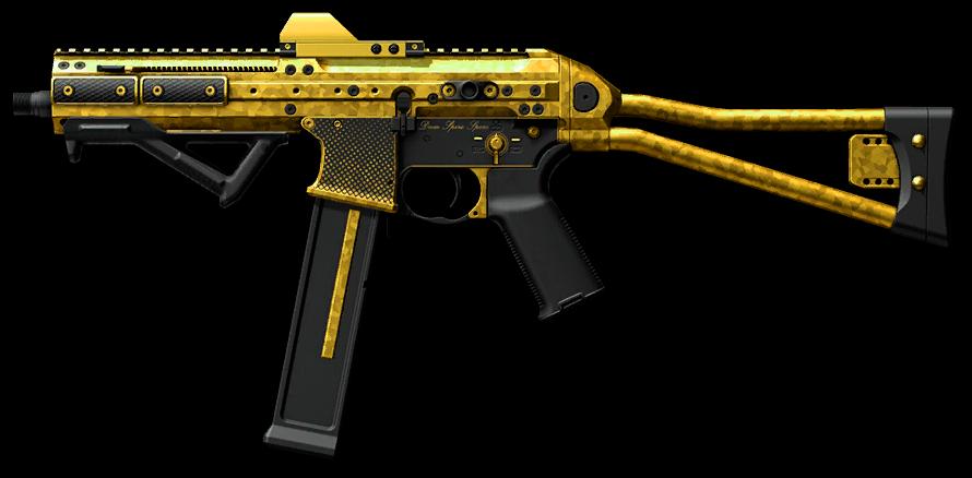 Золотой LWRC SMG-45