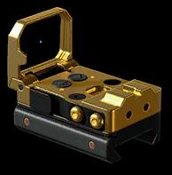 Золотой коллиматор Vism Flip Dot GSS