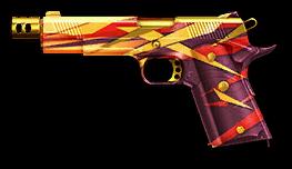 Камуфляж «Рубин» для M1911A1