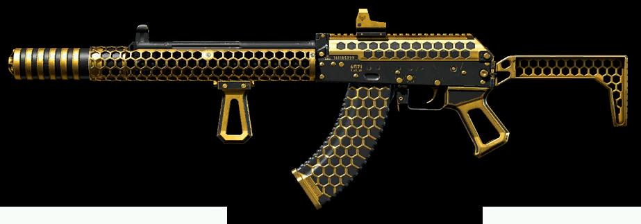 Золотой АК-15 Custom