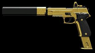 Золотой SIG Sauer P226