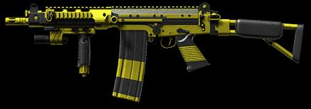 Камуфляж «Карбон» для FN FAL DSA-58