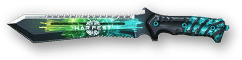 Камуфляж «Warfest» для Нож M48 Bowin
