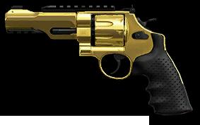 Золотой револьвер S&W M&P R8