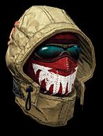 Устрашающий шлем снайпера