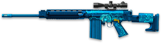 Камуфляж «Импульс» для DSA SA58 SPR