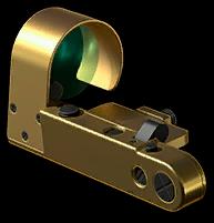 Золотой коллиматор OCS-77