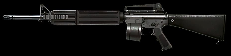 M16A2 LMG, 10$
