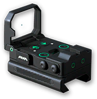 Коллиматор Vism Flip Dot GSS Warface PRO I