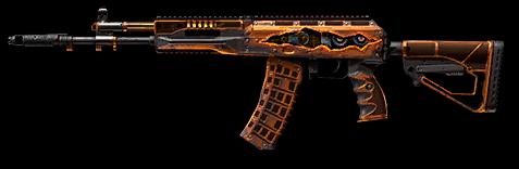 Камуфляж «Механика» для АК-12
