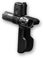 Рукоятка с лазерным прицелом