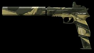 Камуфляж «Джунгли» для SIG Sauer P226 C